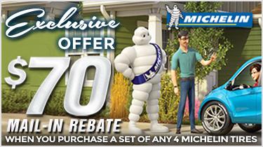 Michelin Shift Into Savings Rebate Form   Wayne's Tire & Auto Repair